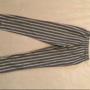 pacsun striped capris ☺️